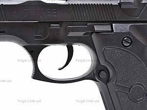 Пистолет с набором пулек, D0988, игрушки