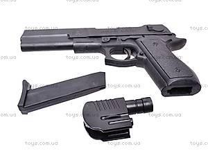 Пистолет с прицелом и фонариком, KP209+, купить