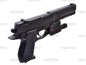 Пистолет с прицелом и фонариком, KP209+