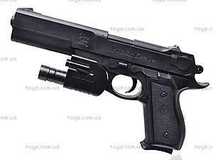 Пистолет с прицелом и фонариком, KP209+, фото