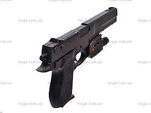 Пистолет с прицелом и фонариком, KP209+, отзывы
