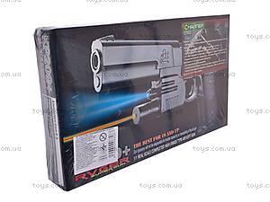 Пистолет с прицелом и фонариком, KP209+, цена