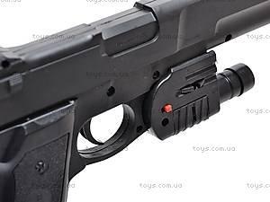 Пистолет с прицелом и фонариком, KP209+, игрушки
