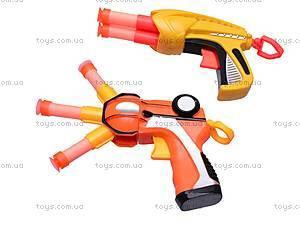 Пистолет с присосками, детский, A121