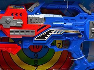 Пистолет с присосками и мишенью, SB281, отзывы