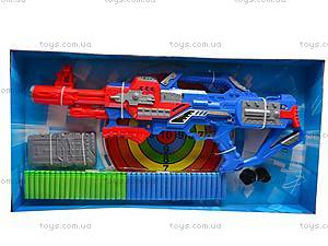 Пистолет с присосками и мишенью, SB281, магазин игрушек