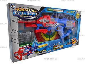 Пистолет с присосками и мишенью, SB281