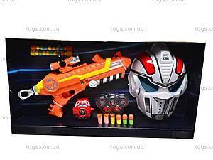 Пистолет с присосками и мягкими пульками, 3310, цена