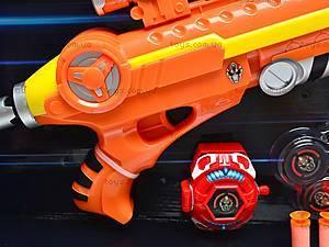 Пистолет с присосками и мягкими пульками, 3310, игрушки