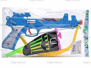 Пистолет с присосками, игрушечный, KD763B, купить