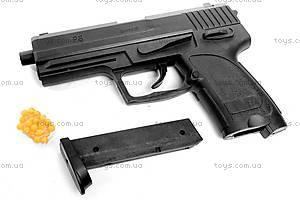 Пистолет, с пульками, P8, фото