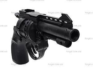Пистолет с пульками, черный, N-632, фото