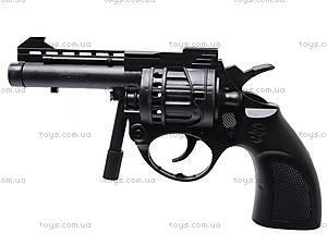 Пистолет с пульками, черный, N-632, игрушки