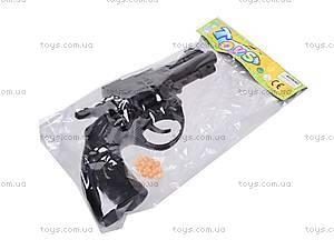 Пистолет с пульками, черный, N-632