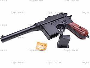 Пистолет с пульками, детский, 308, купить