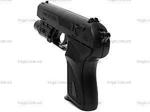Пистолет с пульками и лазером, HK2023A, отзывы