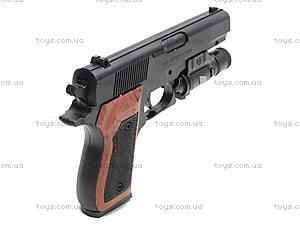 Пистолет с пульками и подсветкой, SP-3C+, фото