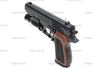 Пистолет с пульками и подсветкой, SP-3C+, цена