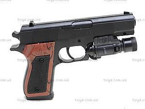 Пистолет с пульками и подсветкой, SP-3C+, игрушки