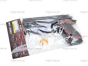 Пистолет с пульками и подсветкой, SP-3C+