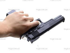 Пистолет с пульками, игровой, D01, фото