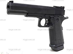 Пистолет с пульками, игровой, D01, игрушки