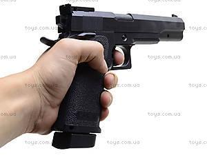 Пистолет с пульками, игровой, D01, детские игрушки