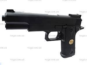 Пистолет с пульками в кейсе, P169A, фото