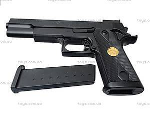 Пистолет с пульками в кейсе, P169A, игрушки