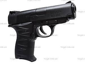 Пистолет с пулями и лазером, 695-1, игрушки