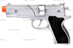 Пистолет «Серебро», с цилиндром, 2104BS, фото