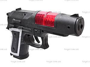 Пистолет, со звуковым эффектом, 868B, игрушки