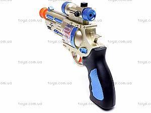 Пистолет со звуковыми эффектами, AK-968, купить