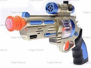 Пистолет со звуковыми эффектами, AK-968, цена