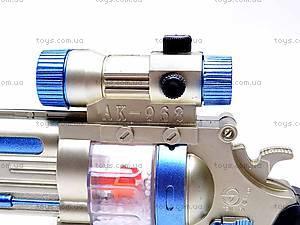 Пистолет со звуковыми эффектами, AK-968, игрушки