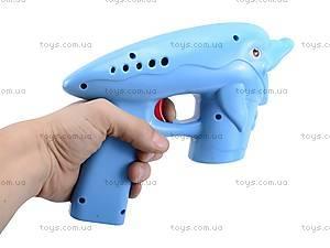 Пистолет стреляющий мыльными пузырями, 2077B, цена