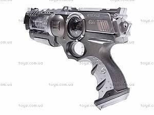 Пистолет светящийся звуковой, KT8618-B2, купить