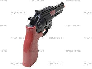 Пистолет-трещетка в кобуре, A025, игрушки
