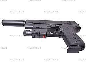 Пистолет утяжеленный с глушителем, 239AS, купить