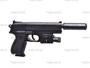 Пистолет утяжеленный с глушителем, 239AS, фото