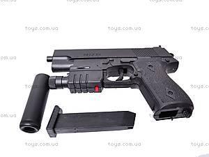Пистолет утяжеленный с глушителем, 239AS, отзывы