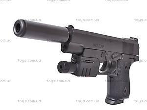 Пистолет утяжеленный с глушителем, 239AS, цена