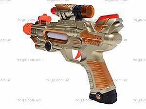 Пистолетик для мальчиков, музыкальный, 788A-A22, отзывы