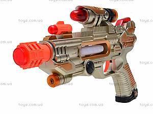 Пистолетик для мальчиков, музыкальный, 788A-A22, игрушки