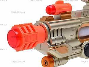 Пистолетик для мальчиков, музыкальный, 788A-A22, детские игрушки