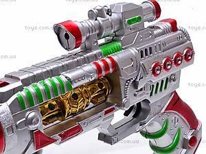 Пистолетик мигающий, 665B, игрушки