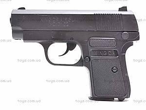 Пистолетик с набором пулек, D0102