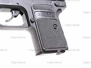 Пистолетик с набором пулек, D0102, фото