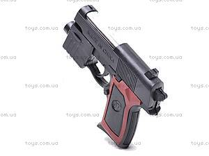 Пистолетик с прицелом и фонарем, 809A, купить