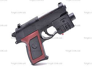 Пистолетик с прицелом и фонарем, 809A